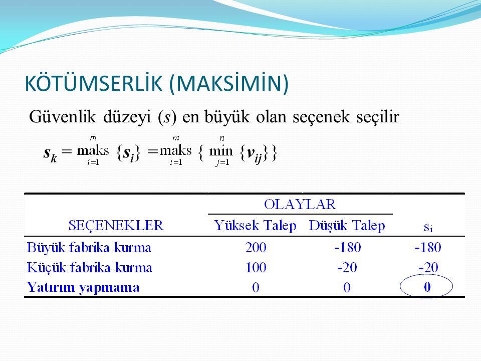 KÖTÜMSERLİK (MAKSİMİN)