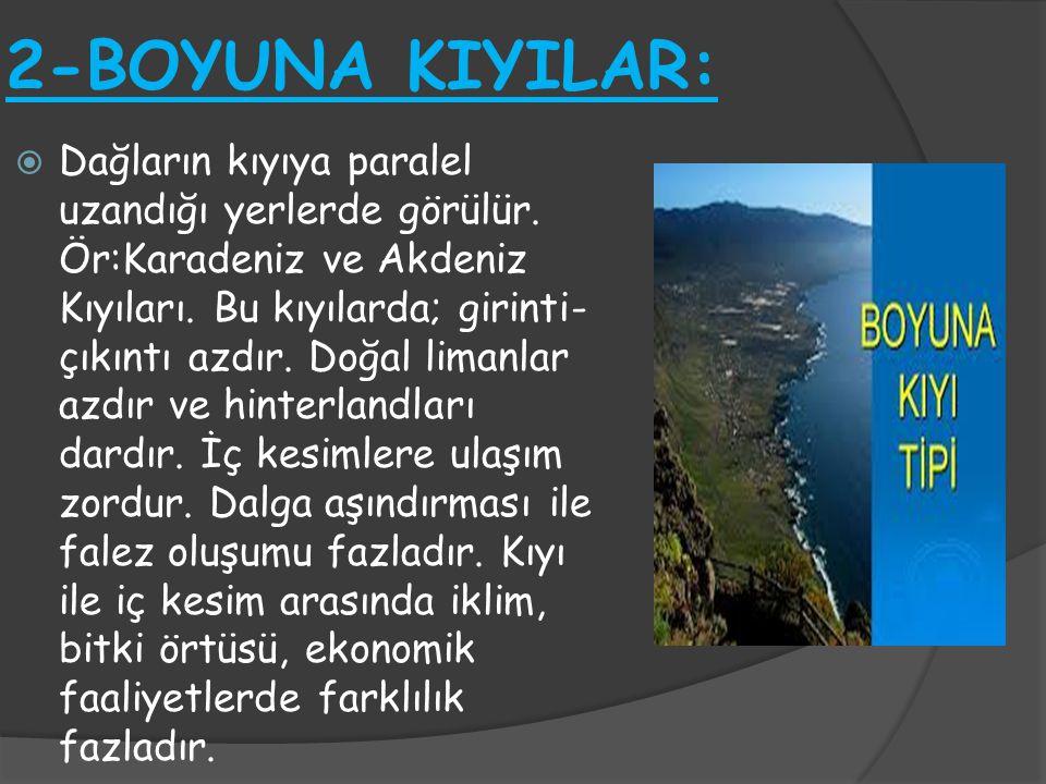 2-BOYUNA KIYILAR: