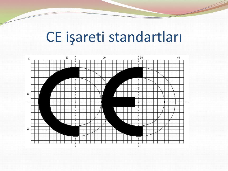CE işareti standartları