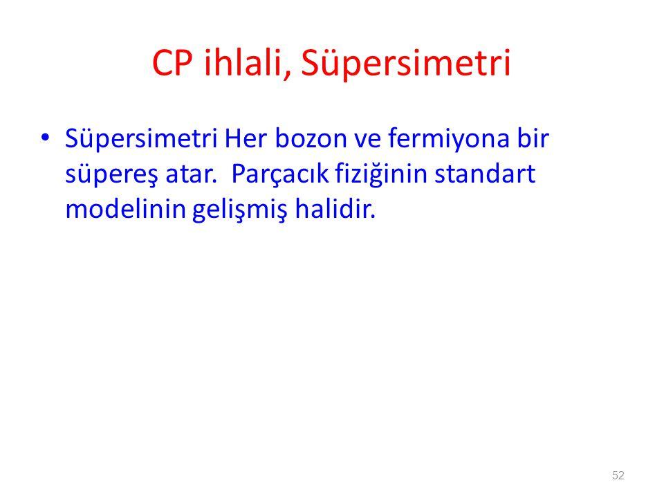 CP ihlali, Süpersimetri