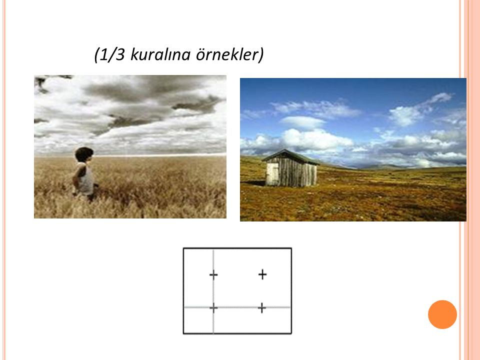 (1/3 kuralına örnekler)