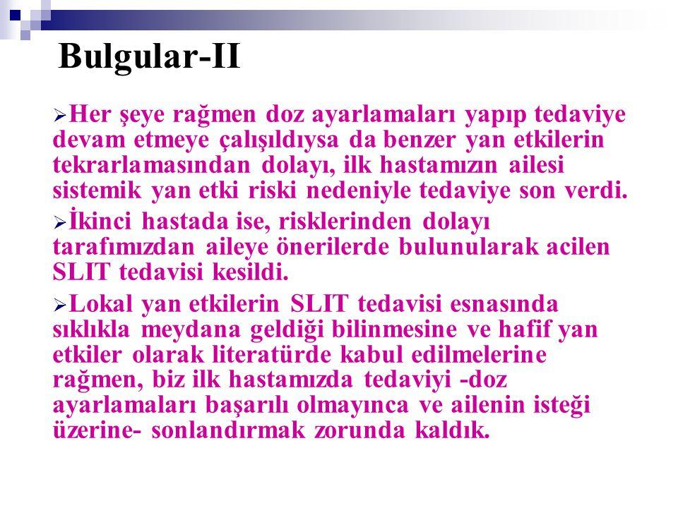 Bulgular-II