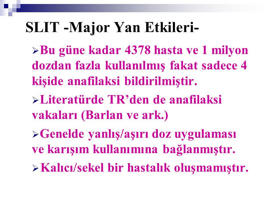 SLIT -Major Yan Etkileri-