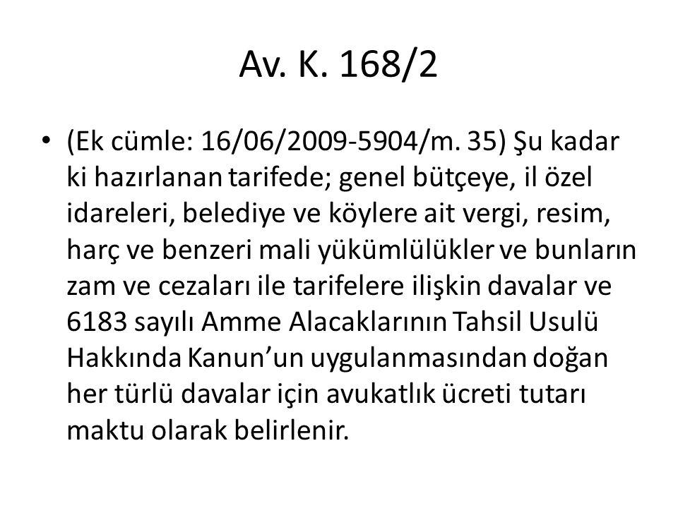 Av. K. 168/2