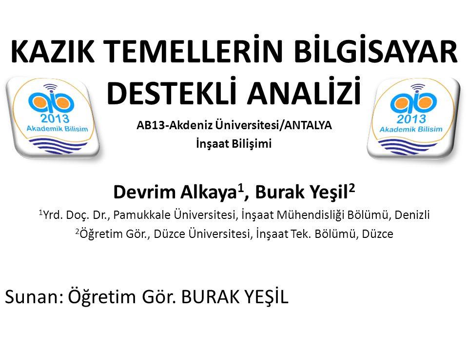 AB13-Akdeniz Üniversitesi/ANTALYA