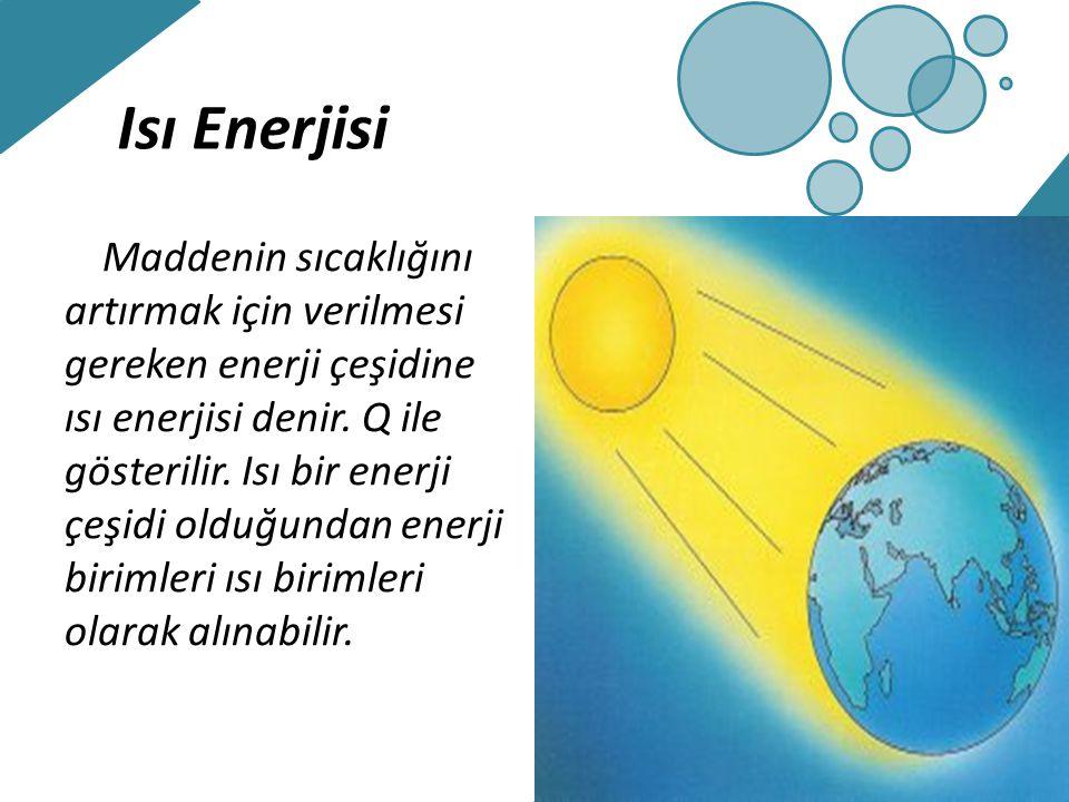 Isı Enerjisi