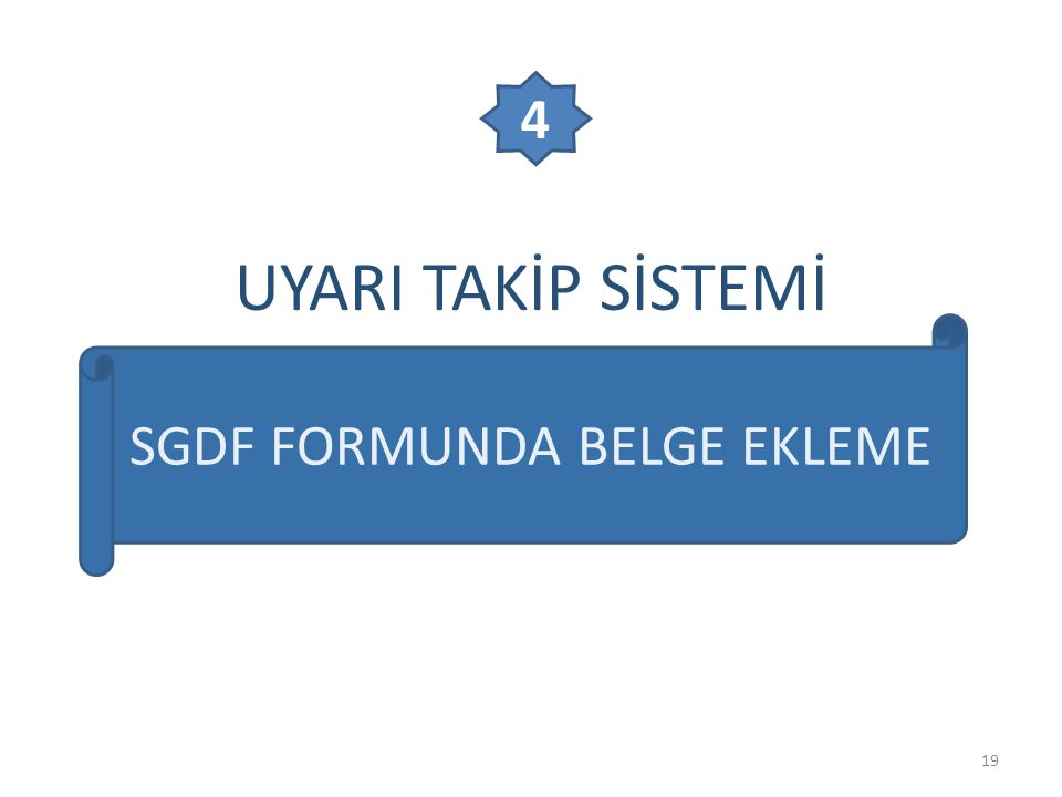 SGDF FORMUNDA BELGE EKLEME