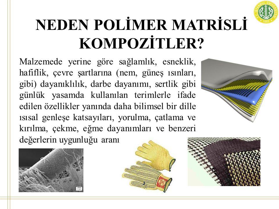 NEDEN POLİMER MATRİSLİ KOMPOZİTLER