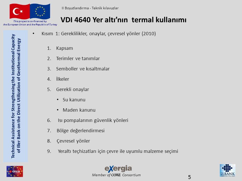 VDI 4640 Yer altı'nın termal kullanımı