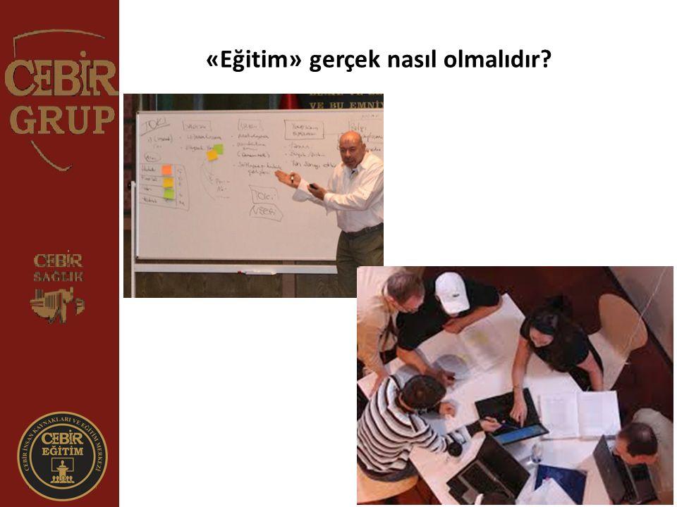 «Eğitim» gerçek nasıl olmalıdır