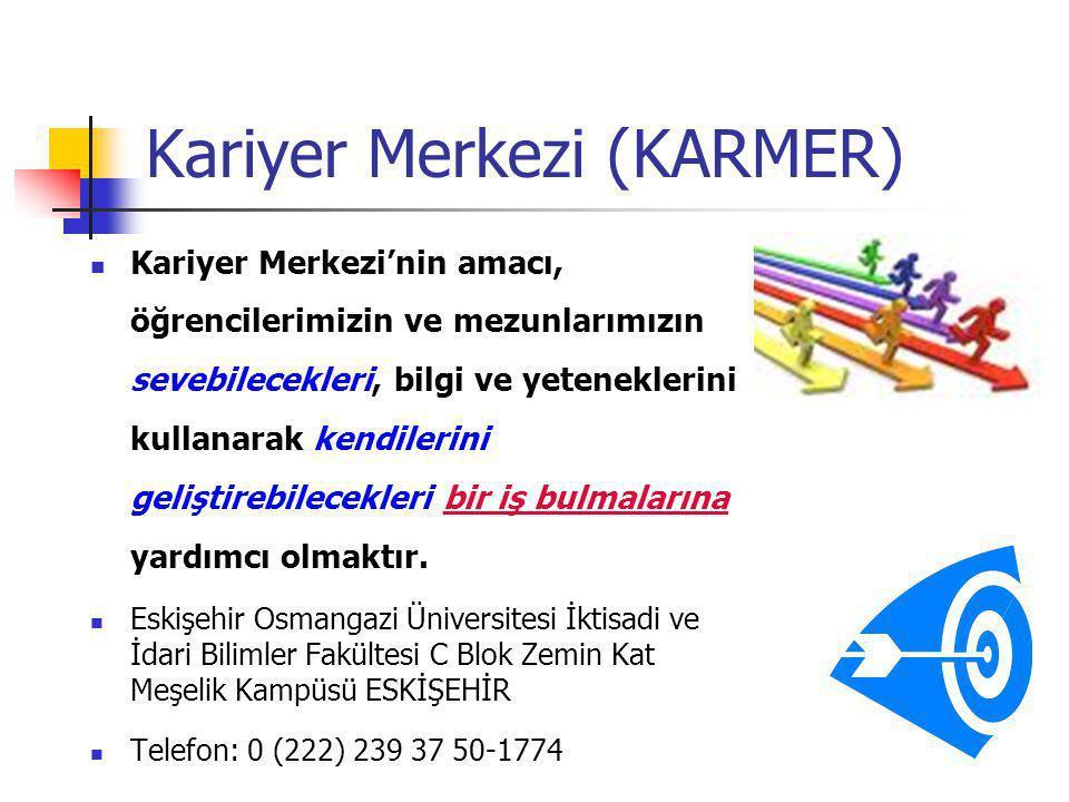 Kariyer Merkezi (KARMER)