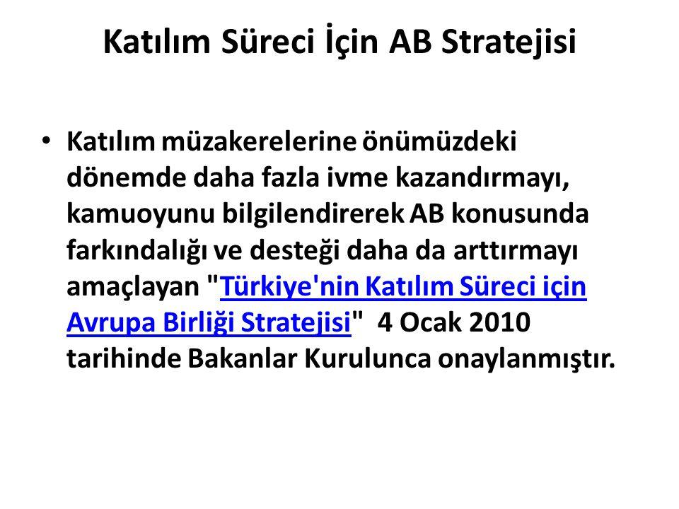 Katılım Süreci İçin AB Stratejisi