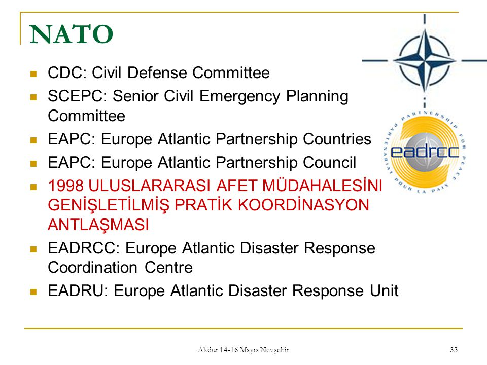 NATO CDC: Civil Defense Committee