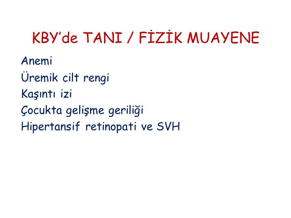 KBY'de TANI / FİZİK MUAYENE