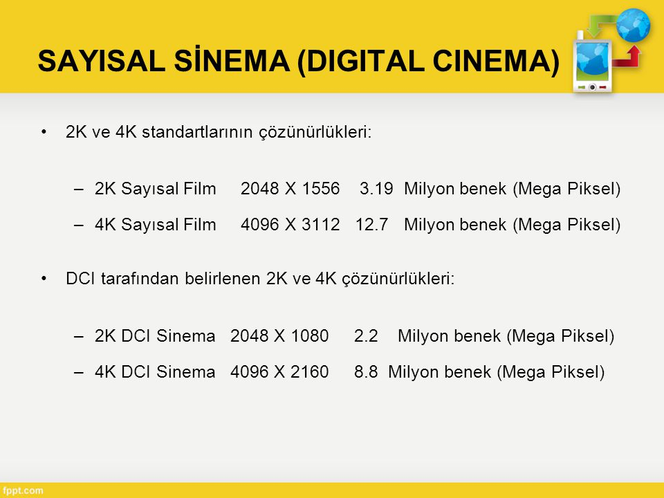 SAYISAL SİNEMA (DIGITAL CINEMA)