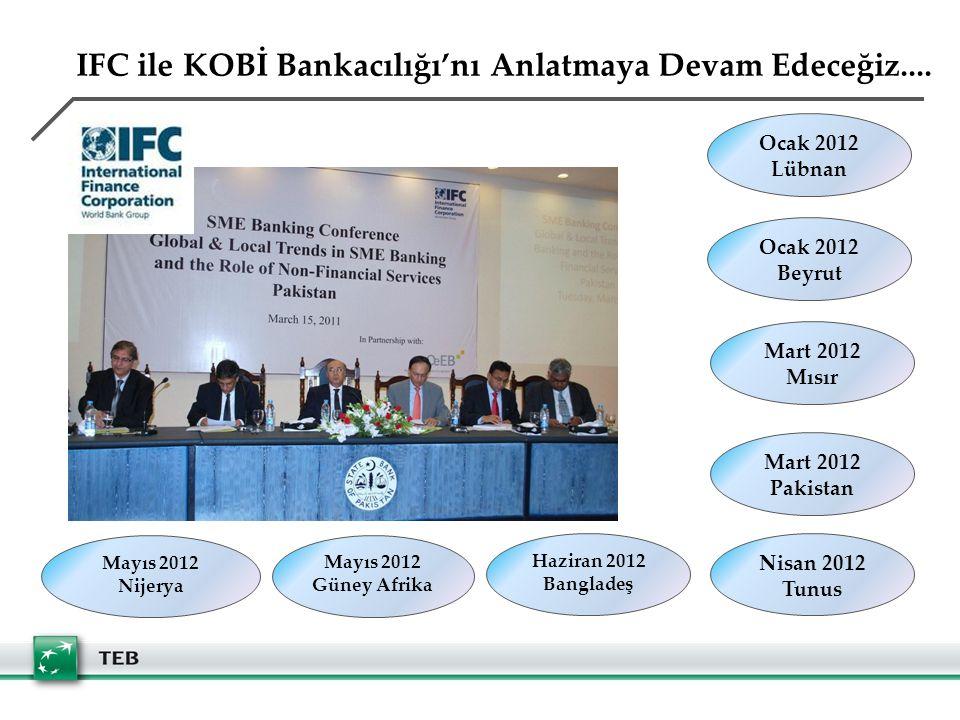 IFC ile KOBİ Bankacılığı'nı Anlatmaya Devam Edeceğiz....