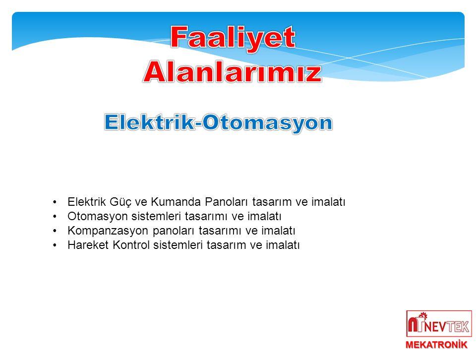 Faaliyet Alanlarımız Elektrik-Otomasyon