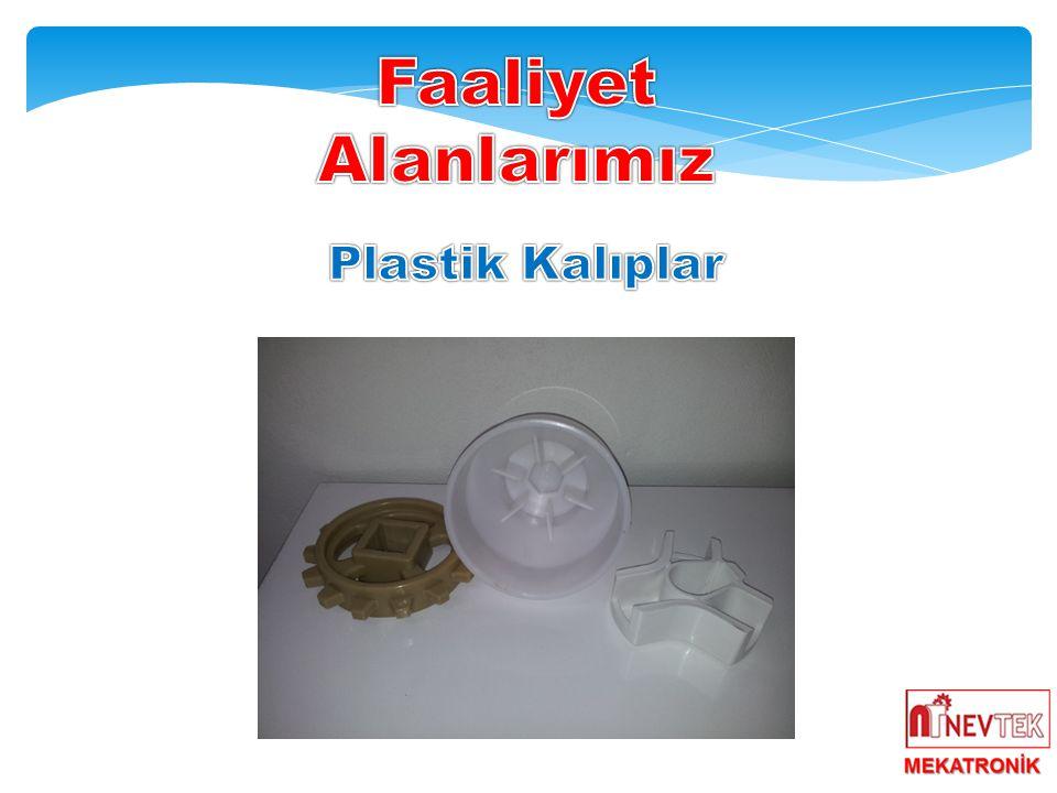 Faaliyet Alanlarımız Plastik Kalıplar