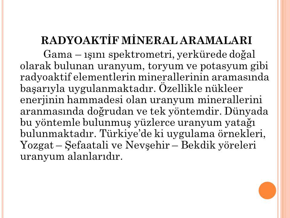 RADYOAKTİF MİNERAL ARAMALARI