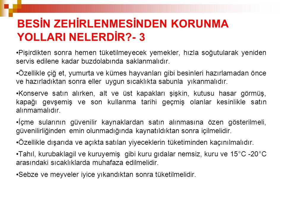 BESİN ZEHİRLENMESİNDEN KORUNMA YOLLARI NELERDİR - 3