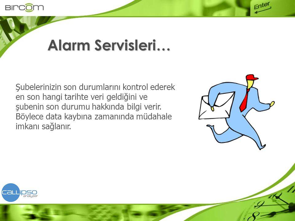 Alarm Servisleri…