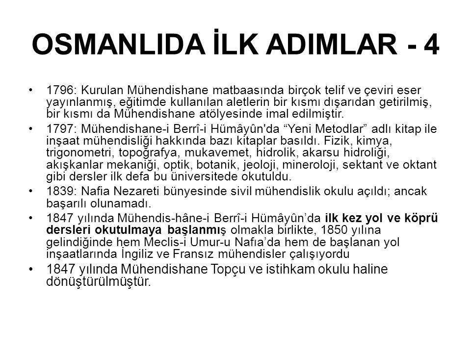 OSMANLIDA İLK ADIMLAR - 4