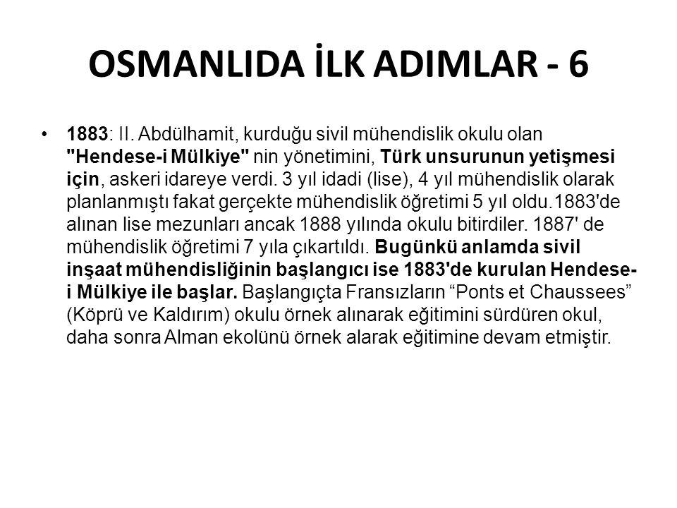 OSMANLIDA İLK ADIMLAR - 6