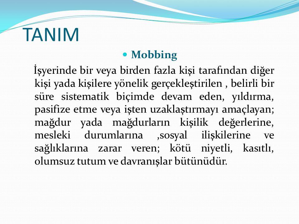 TANIM Mobbing.