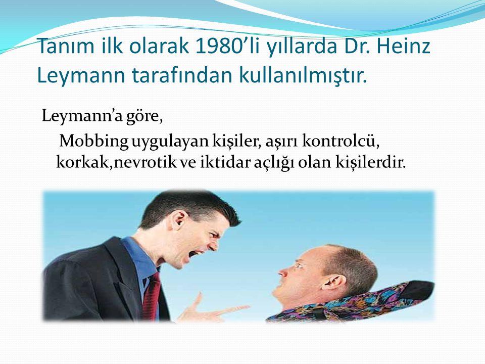 Tanım ilk olarak 1980'li yıllarda Dr