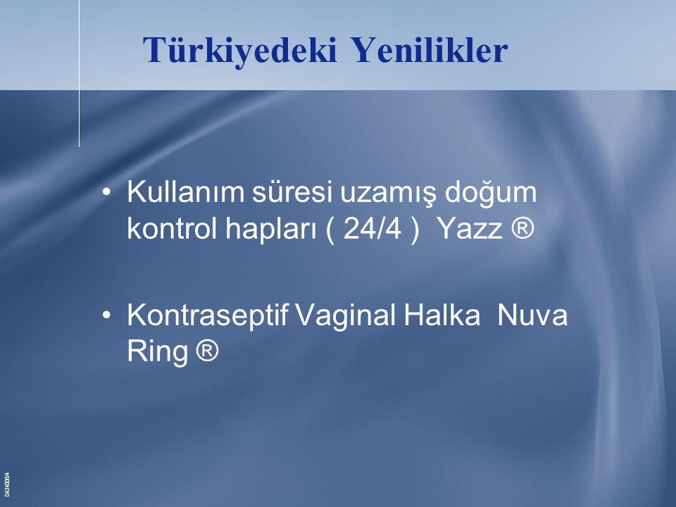 Türkiyedeki Yenilikler