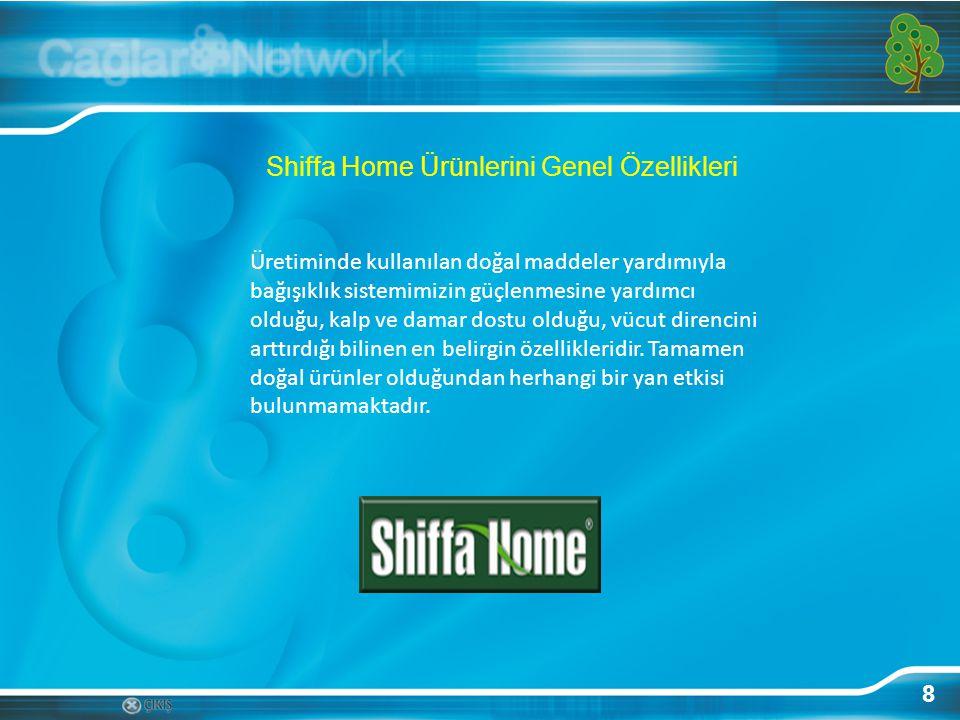 Shiffa Home Ürünlerini Genel Özellikleri