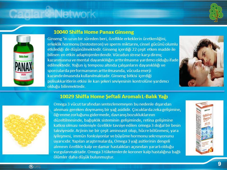 10040 Shiffa Home Panax Ginseng