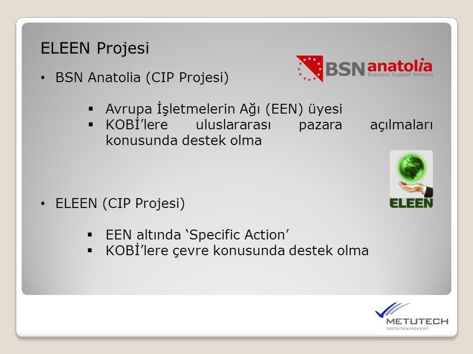 ELEEN Projesi BSN Anatolia (CIP Projesi)