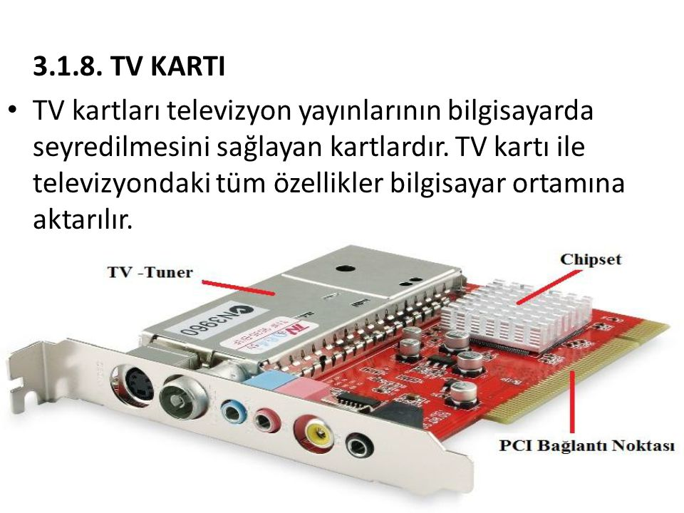 3.1.8. TV KARTI