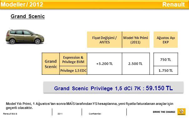 Modeller / 2012 Renault Grand Scenic