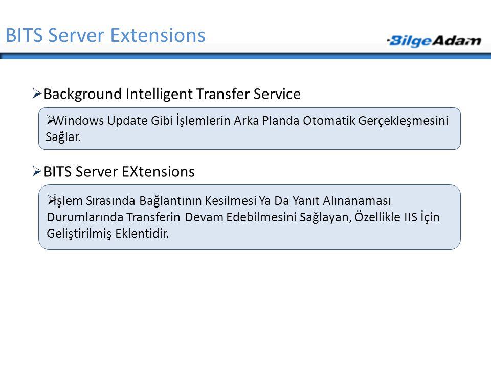 BITS Server Extensions