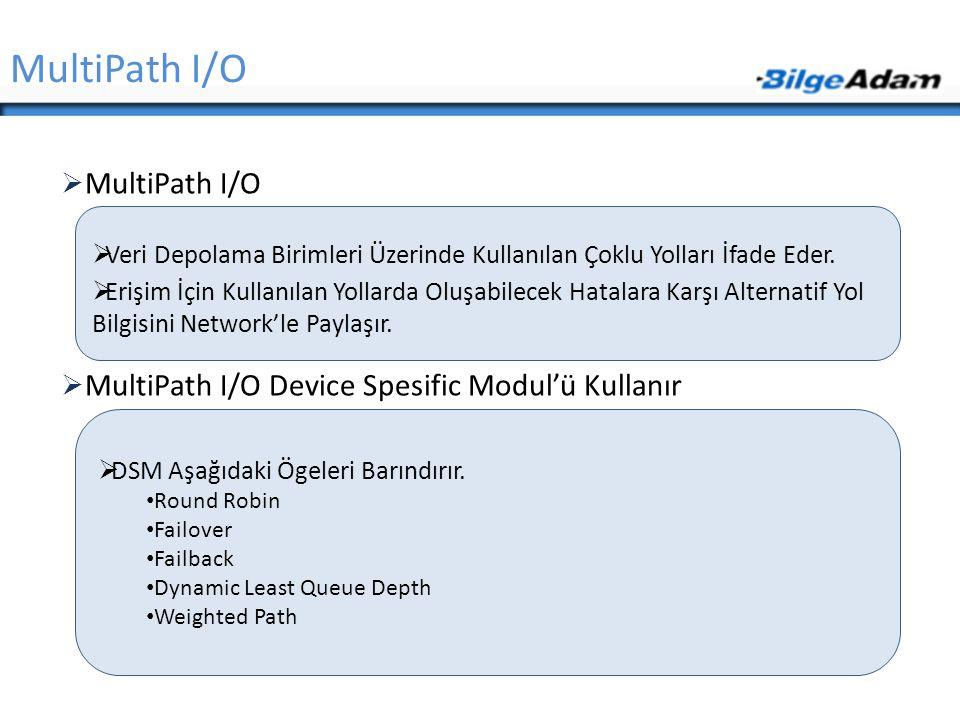 MultiPath I/O MultiPath I/O