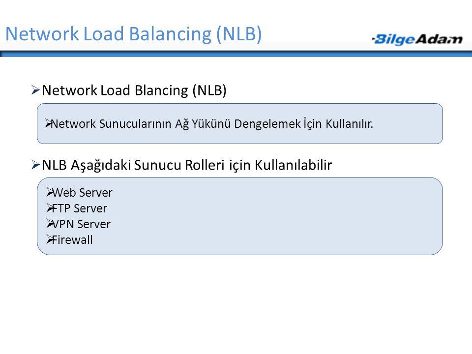 Network Load Balancing (NLB)