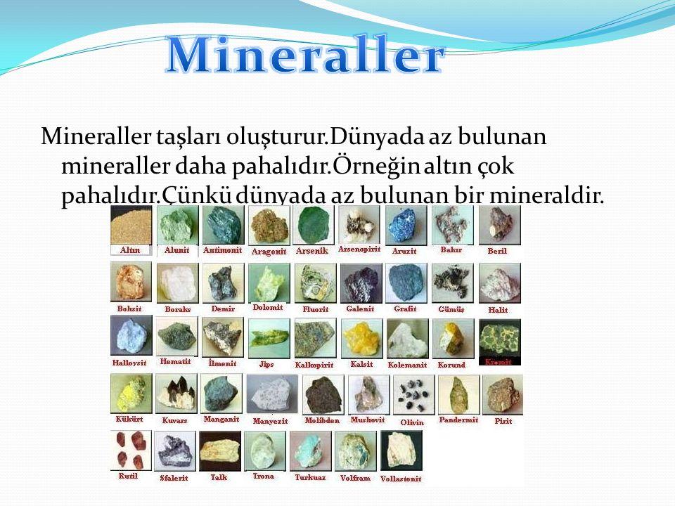 Mineraller