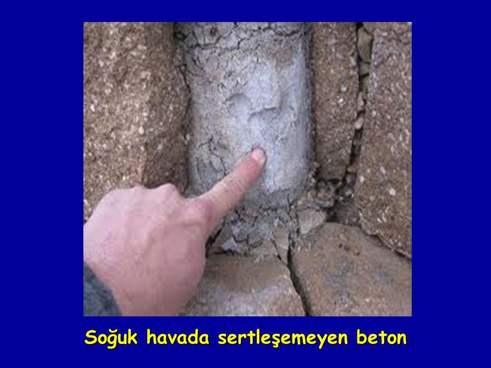 Soğuk havada sertleşemeyen beton