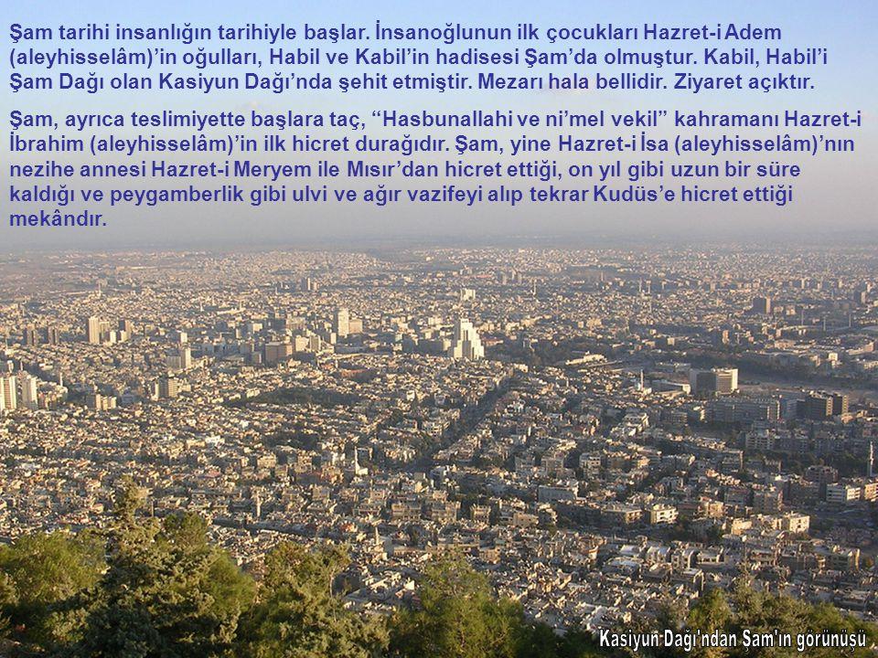 Kasiyun Dağı ndan Şam ın görünüşü