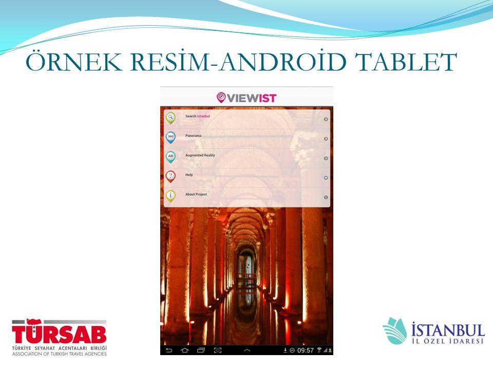 ÖRNEK RESİM-ANDROİD TABLET