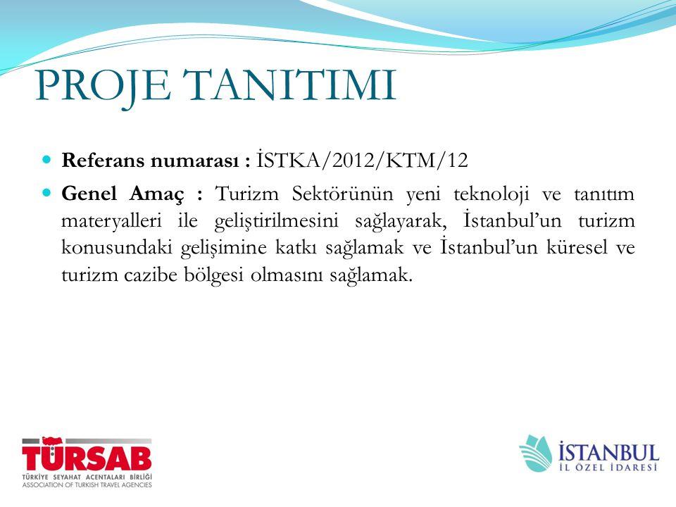 PROJE TANITIMI Referans numarası : İSTKA/2012/KTM/12