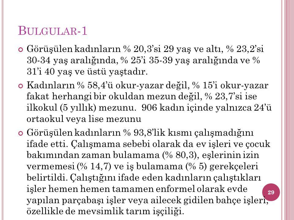 Bulgular-1