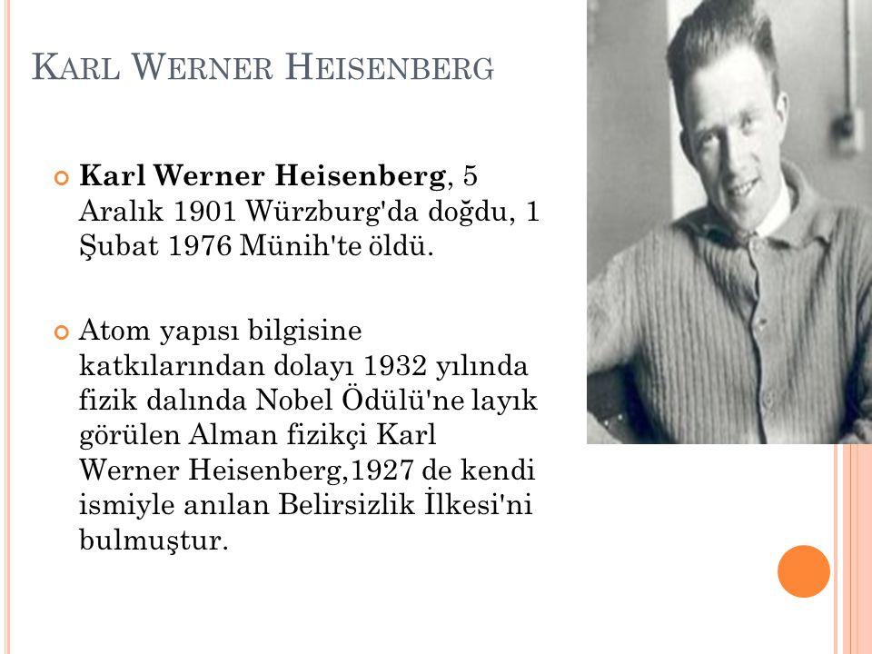 Karl Werner Heisenberg