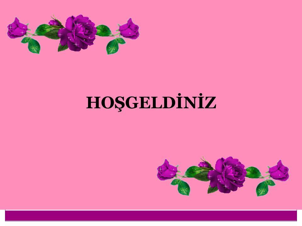 HOŞGELDİNİZ 1
