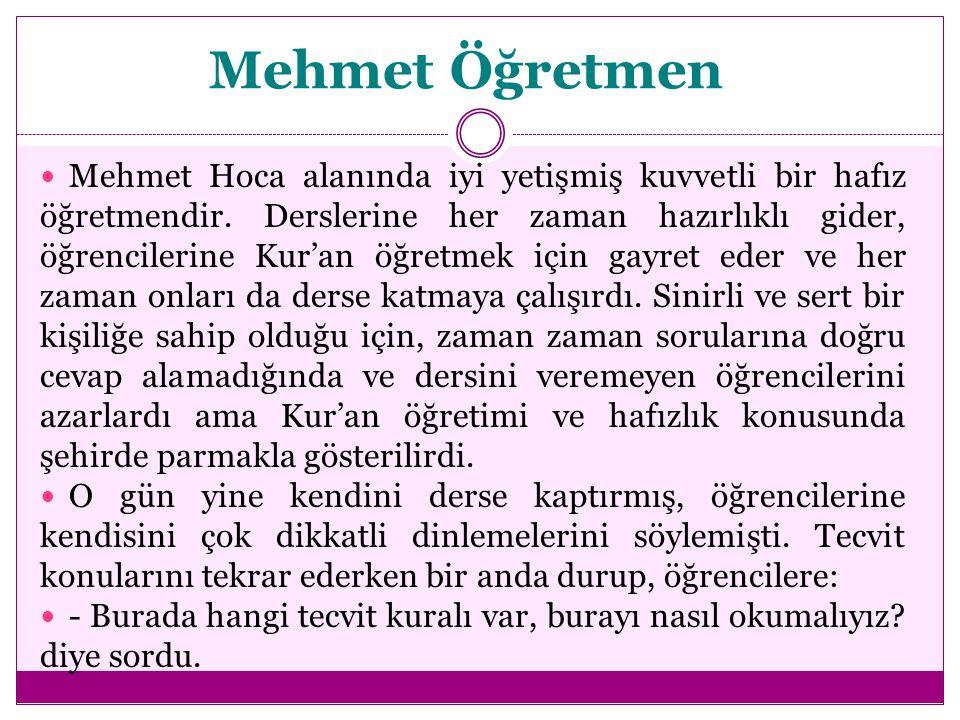 Mehmet Öğretmen