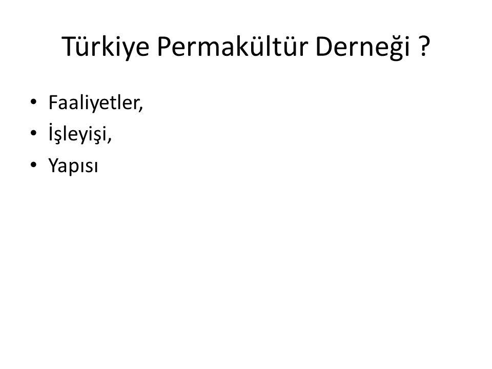 Türkiye Permakültür Derneği