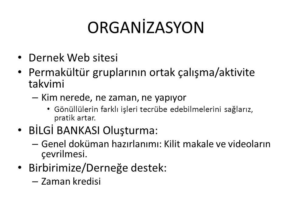 ORGANİZASYON Dernek Web sitesi