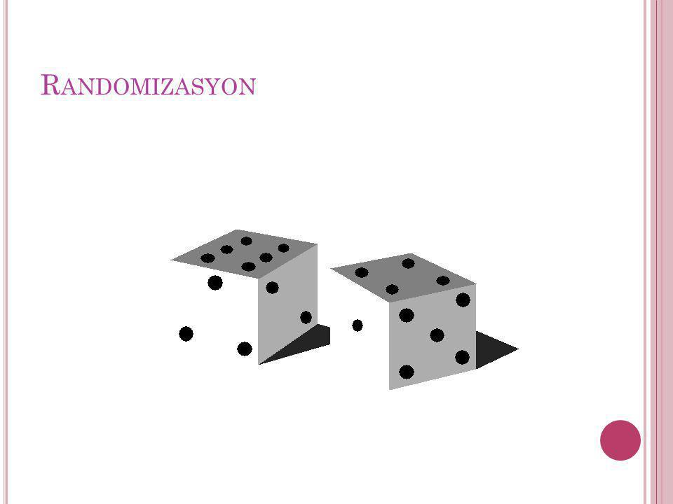 Randomizasyon